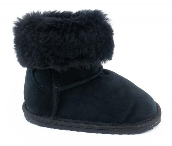 ZeaZoo ~ Winter-Boot Dingo mit Fell ~ Schwarz