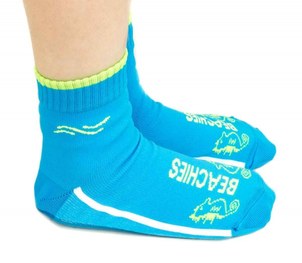 Beachies ~ Aquasocke Seepferd ~ blau
