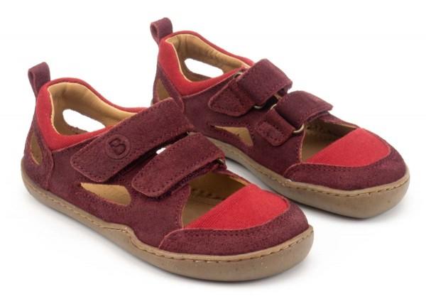 bLifestyle ~ (W) Bio Sandale ~ Kammmolch Cranberry
