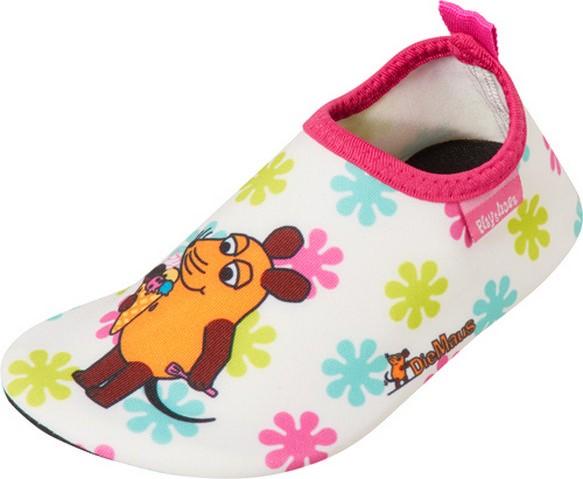 """Playshoes ~ Barfuß-Schuh ~ """"Die Maus"""" (Blumen)"""