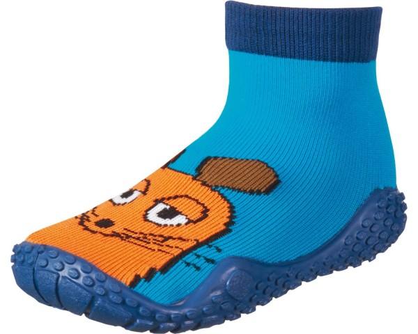 """Playshoes ~ Aqua Socke ~ """"Die Maus"""" (blau)"""