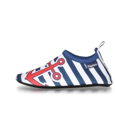 Playshoes ~ Barfuß-Schuh ~ Anker maritim