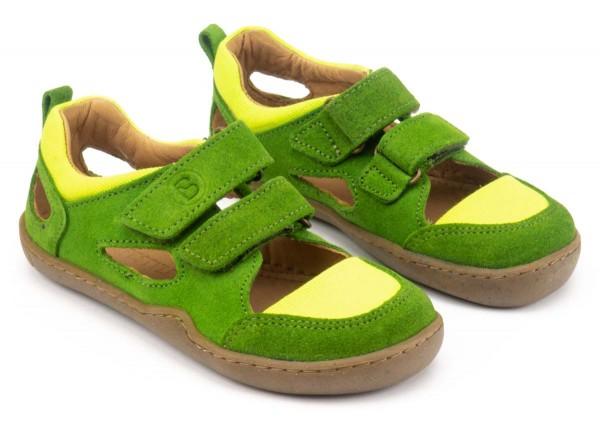 bLifestyle ~ Bio Sandale ~ Kammmolch Apfelgrün