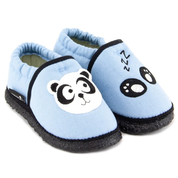 Nanga ~ Baumwoll Hausschuh ~ Panda