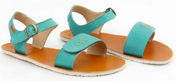 Tikki ~ Sandale Vibe ~ Golden Turquoise