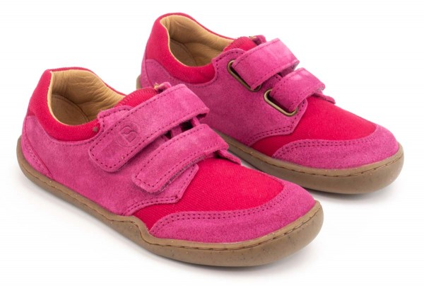 bLifestyle ~ Bio Klettschuh Low ~ Skink Cranberry