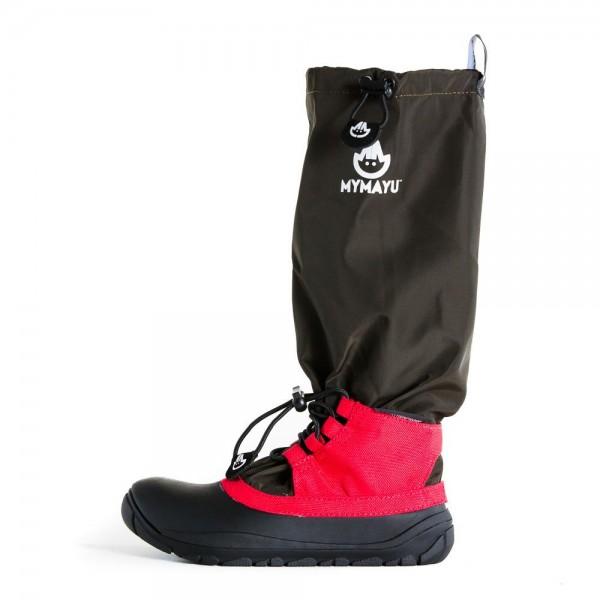 MyMayu ~ Traveller Boots ~ schwarz/rot