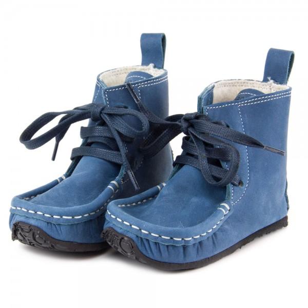 ZeaZoo ~ Yeti (W) Schnürer Wollfleece ~ blau