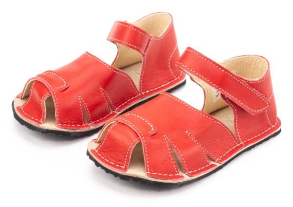 ZeaZoo ~ Sandale Shell ~ Rot