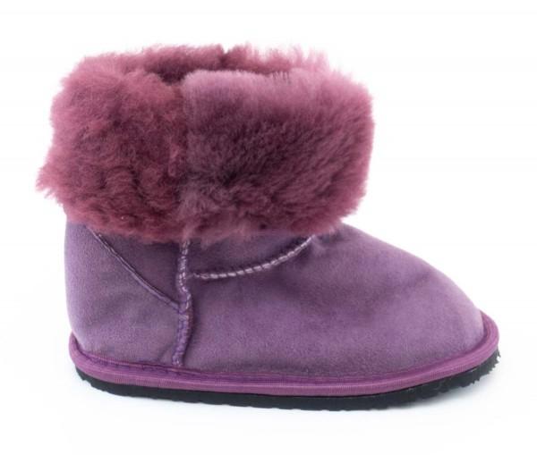 ZeaZoo ~ Winter-Boot Dingo mit Fell ~ Lila