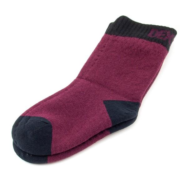 DexShell Kids ~ wasserdichte Socke ~ Smart Sock ~ burgunder