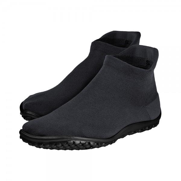 Leguano ~ Sockenschuh Sneaker ~ schwarz