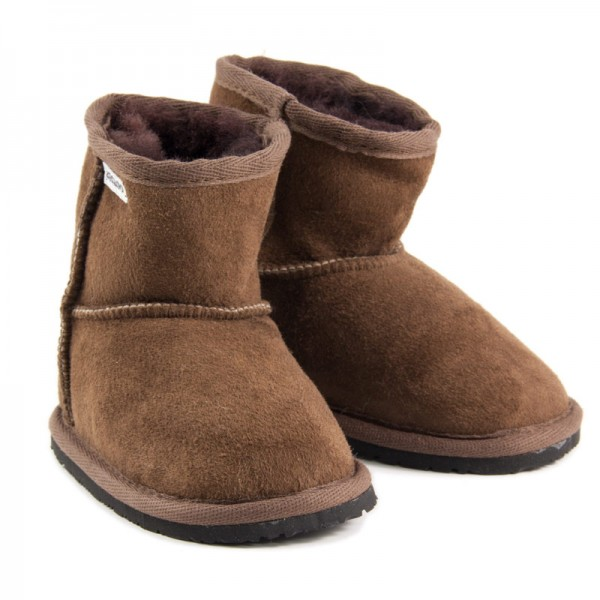 ZeaZoo ~ Winter-Boot Dingo mit Fell ~ braun