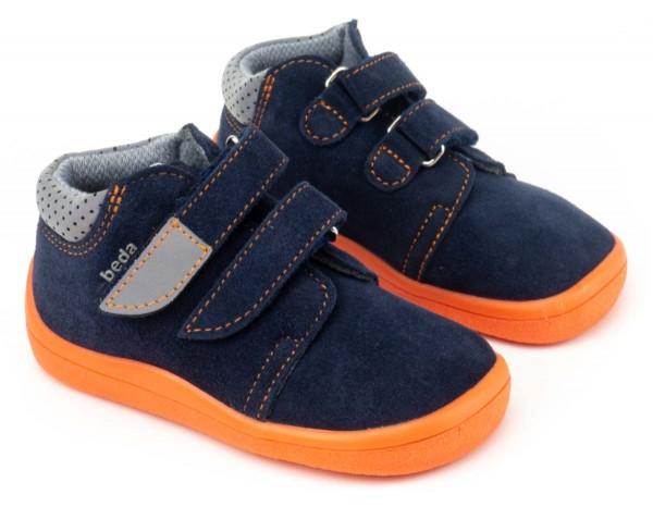 beda ~ v2 Leder Mid TEX ~ Blue Mandarine