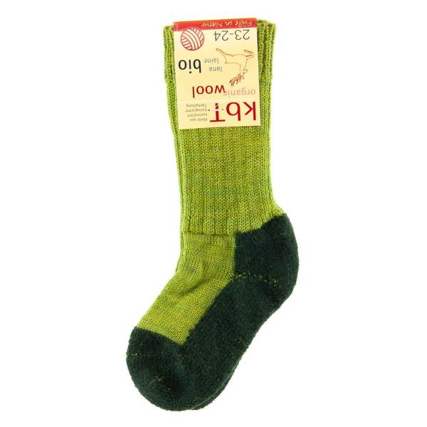 Hirsch Natur ~ Trekking-Socke ~ maigrün