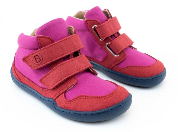 bLifestyle ~ Bio Mid Klettschuh ~ Loris pink/berry