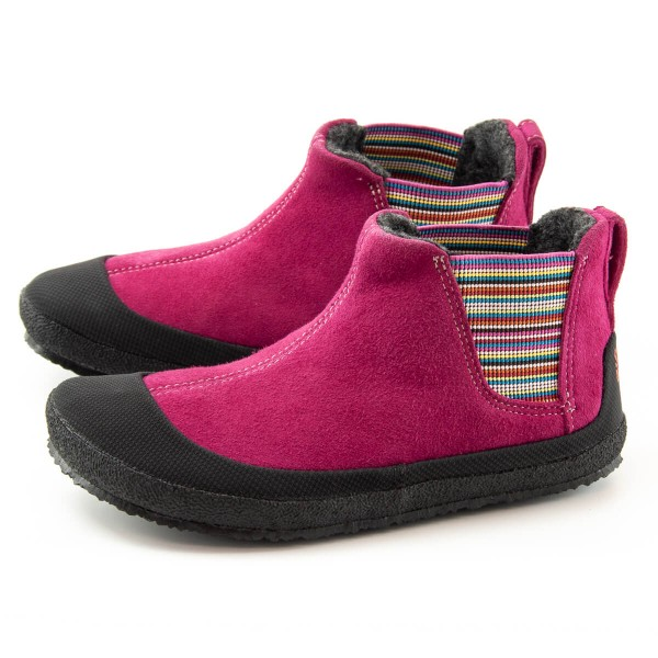 Sole Runner ~ Portia mit Warmfutter ~ Fuchsia/Black