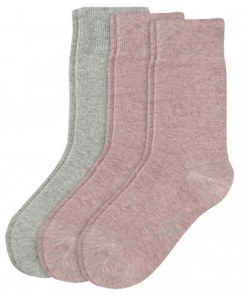 Camano ~ Kindersocke ~ mix rosa grau