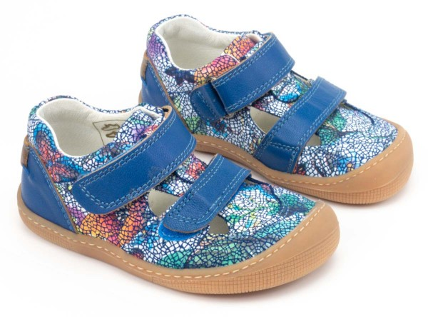 Koel bare ~ Sandale Fleur Mini ~ Bleu
