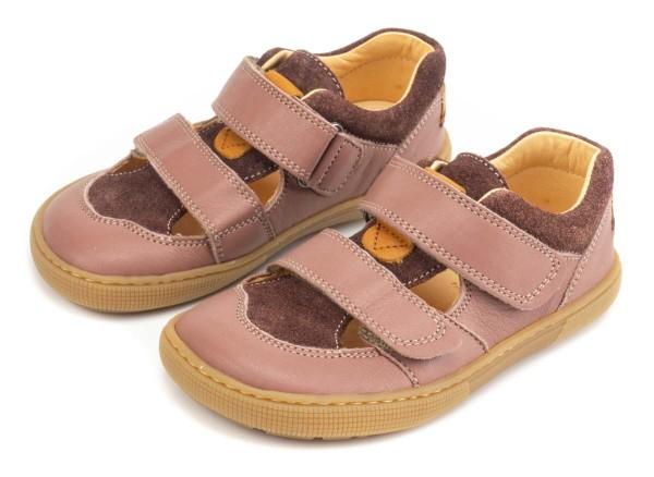 Koel bare ~ Bio Sandale ~ Altrosa