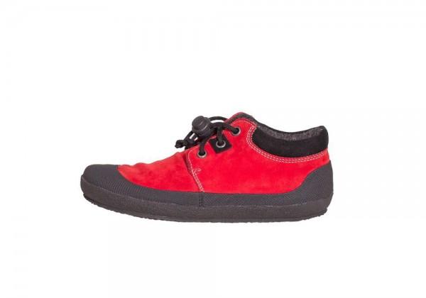 Sole Runner ~ Pan mit Warmfutter ~ red/black