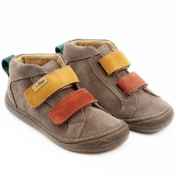 Tikki kids ~ Klettschuh Moon ~ brown